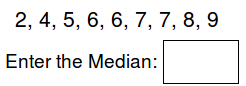 Math Worksheets - Find the Median
